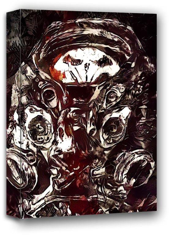 Legends of bedlam, raynor, starcraft - obraz na płótnie wymiar do wyboru: 90x120 cm