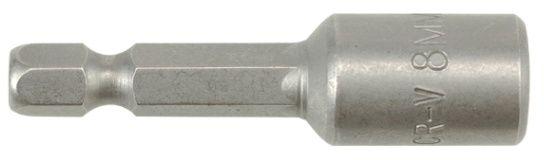 "YT-1513 Nasadka magnetyczna do wkrętarki na blistrze 1/4"" 8x48mm"