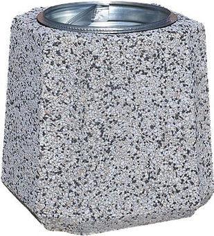 Kosz betonowy z wkładem metalowym B2 40l