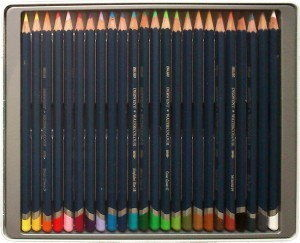 Zestaw Kredek Akwarelowych Derwent Watercolour 24 Kolory