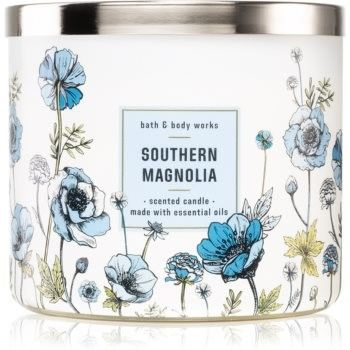 Bath & Body Works Southern Magnolia świeczka zapachowa 411 g