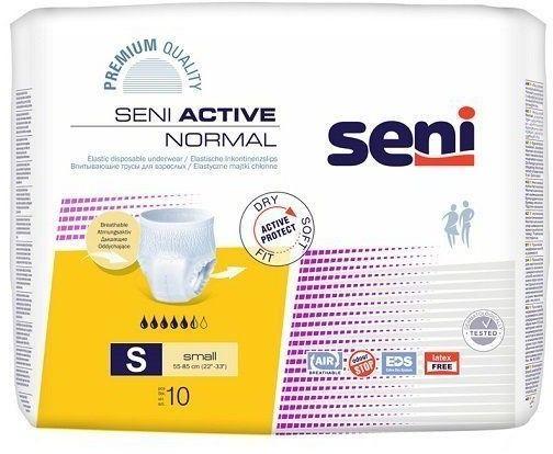 Seni Active Normal Majtki chłonne Small (S), 10 sztuk