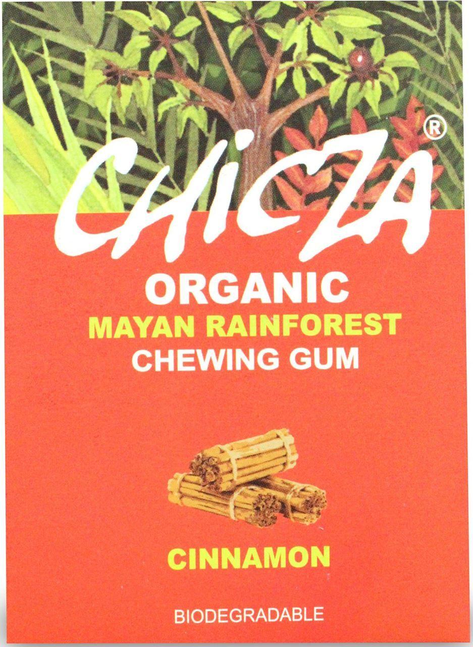Guma do żucia cynamon bio 30 g - chicza