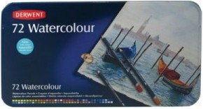 Zestaw Kredek Akwarelowych Derwent Watercolour 72 Kolory (Pudełko Metalowe)