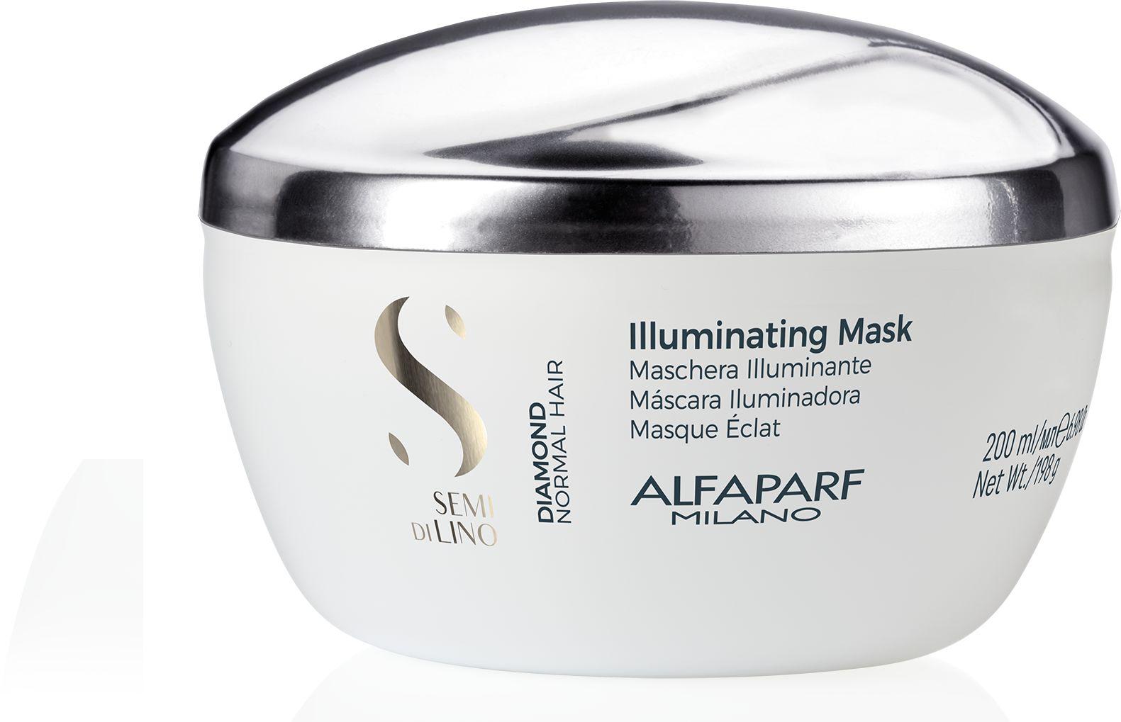 Alfaparf SDL Diamond Maska rozświetlająca do włosów 200 ml