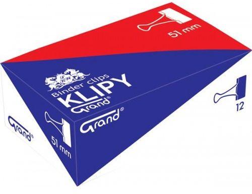 "Klips GRAND 51mm 2"" (12)"