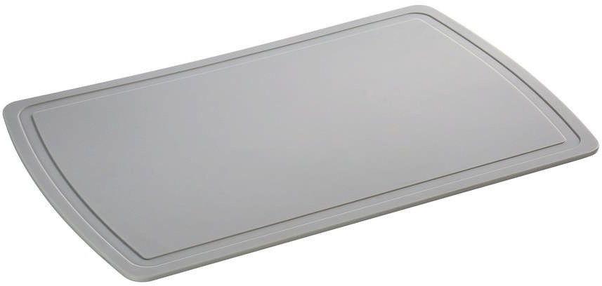 Zassenhaus - easy cut plus - deska do krojenia, 32,00 cm, szara