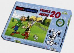Puzzle Maxi 20 Asteriks&Obeliks W Brytanii ZAKŁADKA DO KSIĄŻEK GRATIS DO KAŻDEGO ZAMÓWIENIA