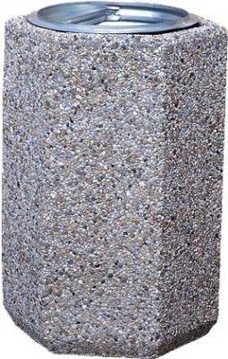 Betonowy kosz na śmieci B1X 70l