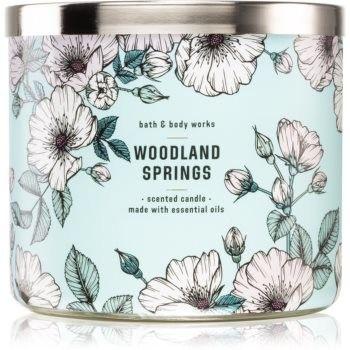 Bath & Body Works Woodland Springs świeczka zapachowa 411 g
