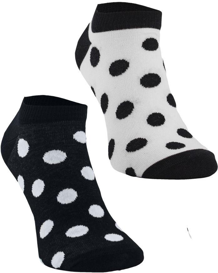 Stopki, Grochy, Todo Socks, Czarno-białe, Monochromatyczne, Kolorowe