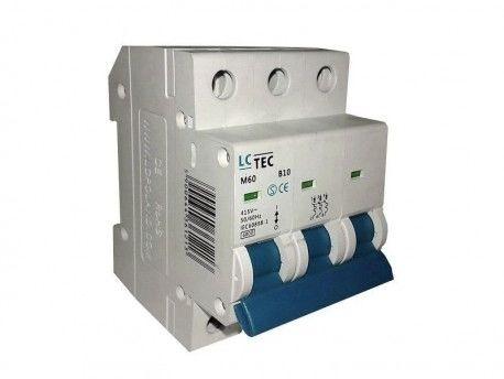 B10A 3P 6kA Wyłącznik nadprądowy bezpiecznik Typ S eska LC TEC 1213