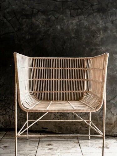 Fotel rattanowy Fito