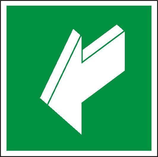 Znak - ciągnąć aby otworzyć - X03031