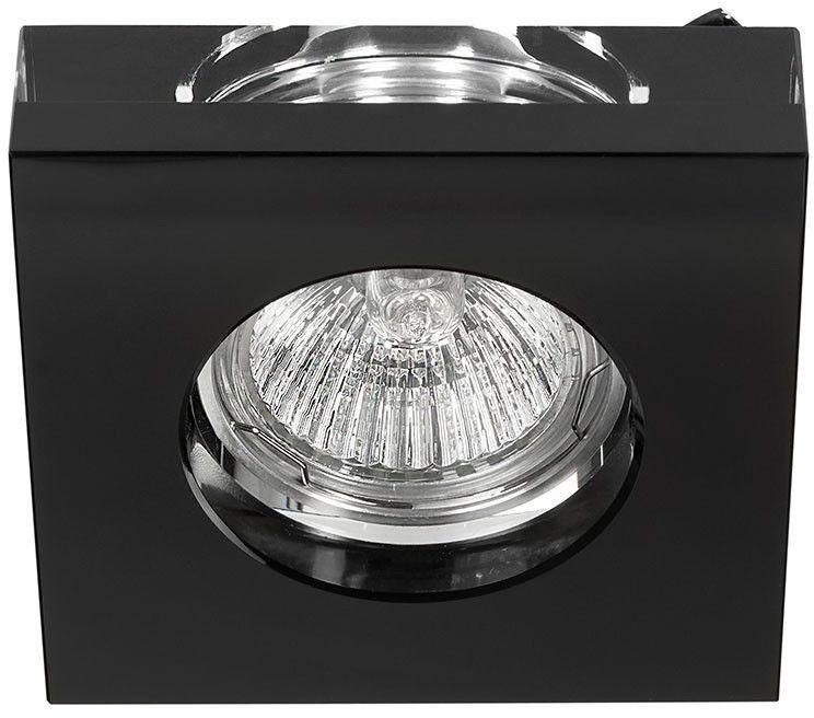 Oprawa podtynkowa czarna Astro nero szklana kwadratowa - Orlicki Design Do -17% rabatu w koszyku i darmowa dostawa od 299zł !