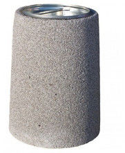 Kosz z betonu płukanego B3 40l
