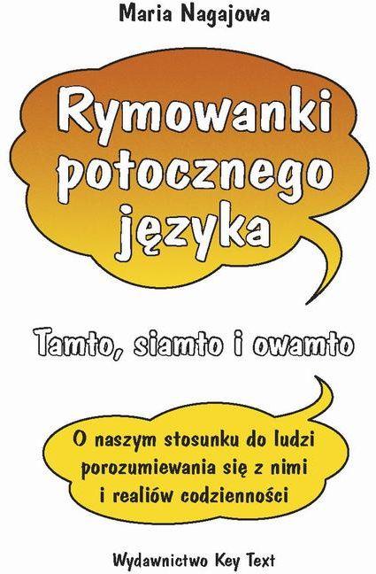 Rymowanki potocznego języka - Maria Nagajowa - ebook