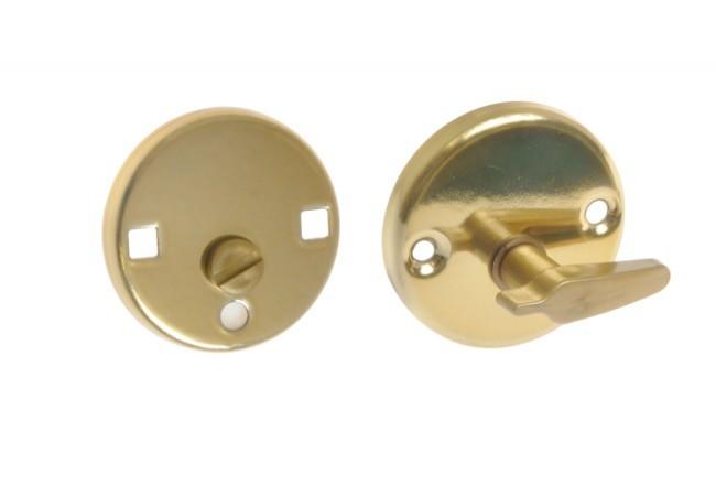 Blokada WC nowe złoto (kpl.)