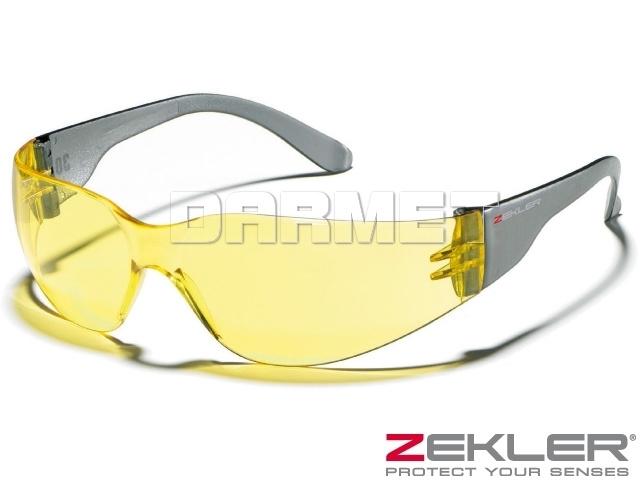 Okulary ochronne ZEKLER 30, szkła żółte - ZEKLER (380600510)