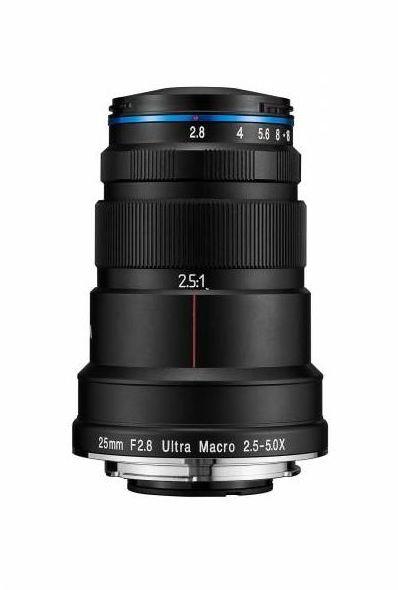 Laowa Venus Optics 25mm f/2.8 Ultra Macro - obiektyw stałoogniskowy do Sony E Laowa Venus Optics 25mm f/2.8 Ultra Macro