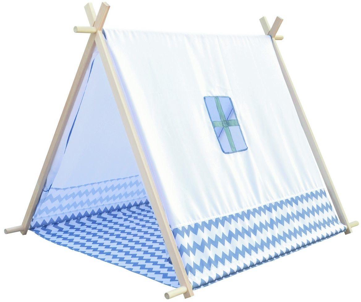 Bino Namiot dziecięcy Domek biały, 125 x 92 x 95 cm