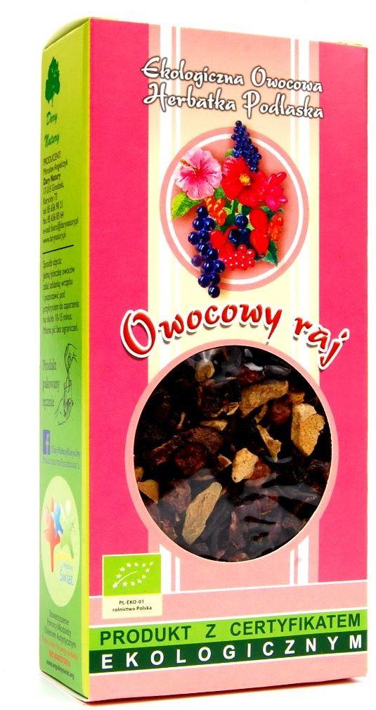 Herbatka owocowy raj bio 100 g - dary natury