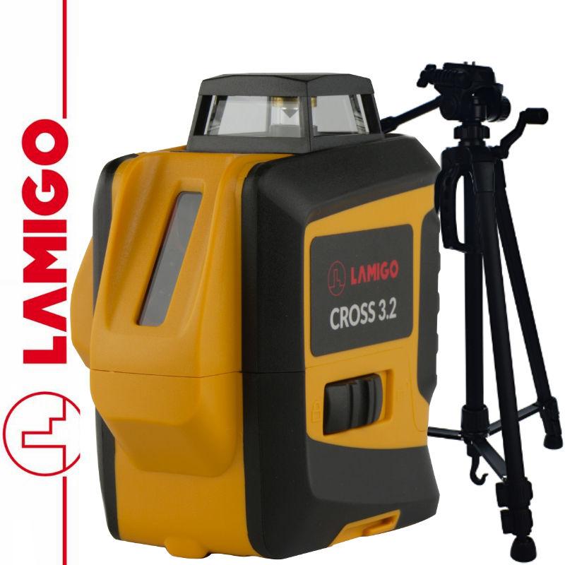 Laser liniowy Cross 3.2 LAMIGO + Statyw aluminiowy 1,4m