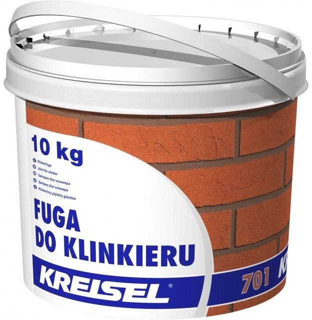 Fuga do klinkieru Kreisel grafitowa 10 kg