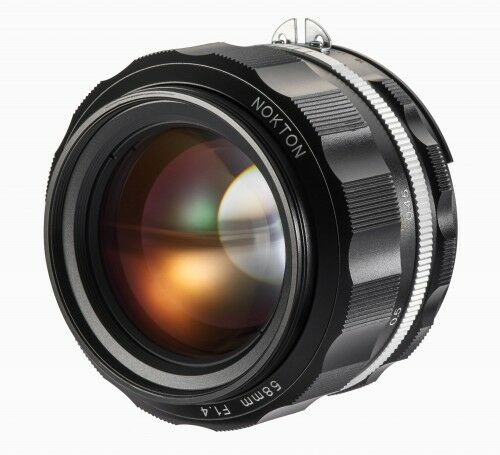 Obiektyw Voigtlander Nokton SL IIs 58 mm f/1,4 do Nikon F - czarny