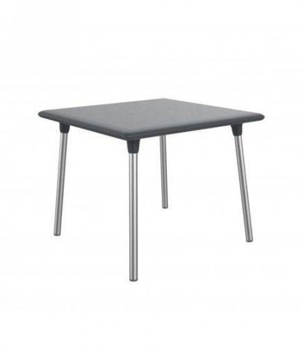 Stół New Flash 90x90 Dark Grey Resol