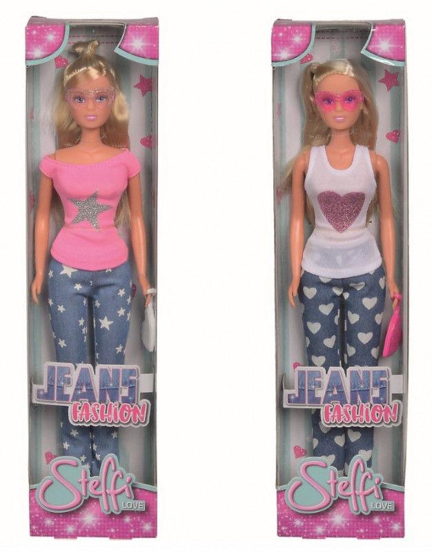 Lalka Steffi Jeansowa moda, 2 rodzaje