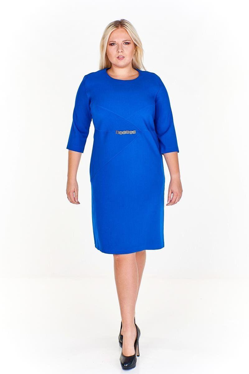 Sukienka FSU954 CHABROWY