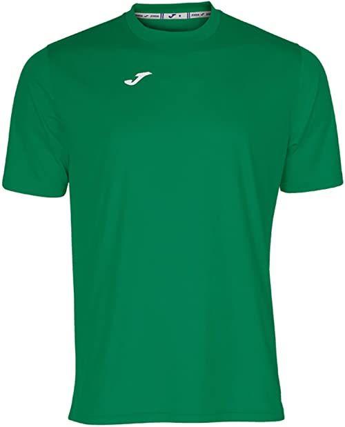 Joma męska koszulka 100052.450 Joma 100052.450 z krótkim rękawem - zielony/zielony, 2X-mały Green/Green S