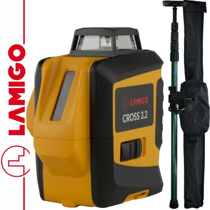 Laser liniowy Cross 3.2 LAMIGO + Tyczka rozporowa 3,2m SurvGeo