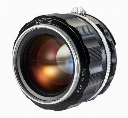 Obiektyw Voigtlander Nokton SL IIs 58 mm f/1,4 do Nikon F - srebrny