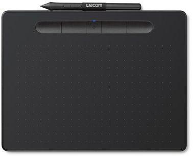 Tablet graficzny WACOM Intuos M Pen and Bluetooth Czarny CTL-6100WLK-N. AKCESORIA W ZESTAWIE DO 40%! ODBIÓR W 29 min! DARMOWA DOSTAWA DOGODNE RATY SPRAWDŹ!