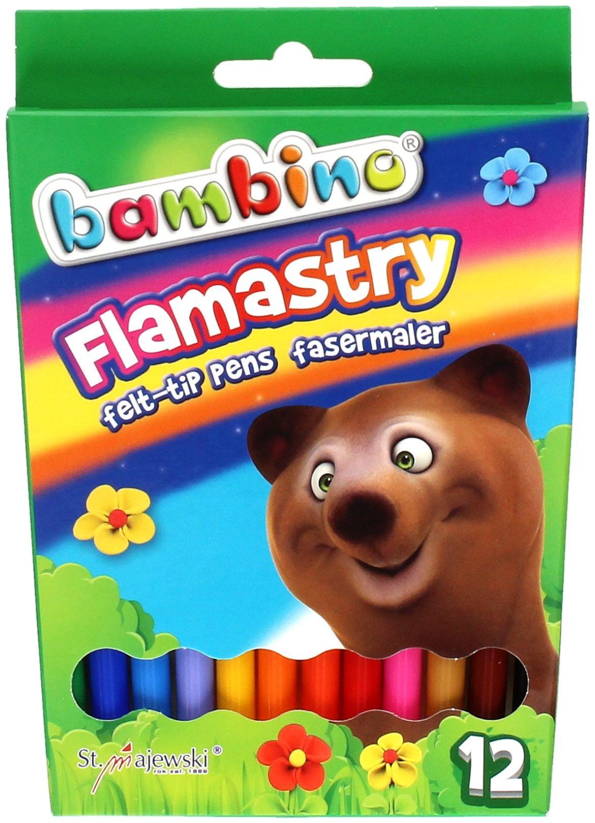 Flamastry 12kol Bambino