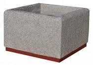 Donica betonowa D4
