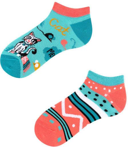 Stopki, Cats Kids Low, Todo Socks, Kotki, Kaktus, Dziecięce