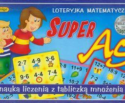 Super AS Loteryjka matematyczna ZAKŁADKA DO KSIĄŻEK GRATIS DO KAŻDEGO ZAMÓWIENIA