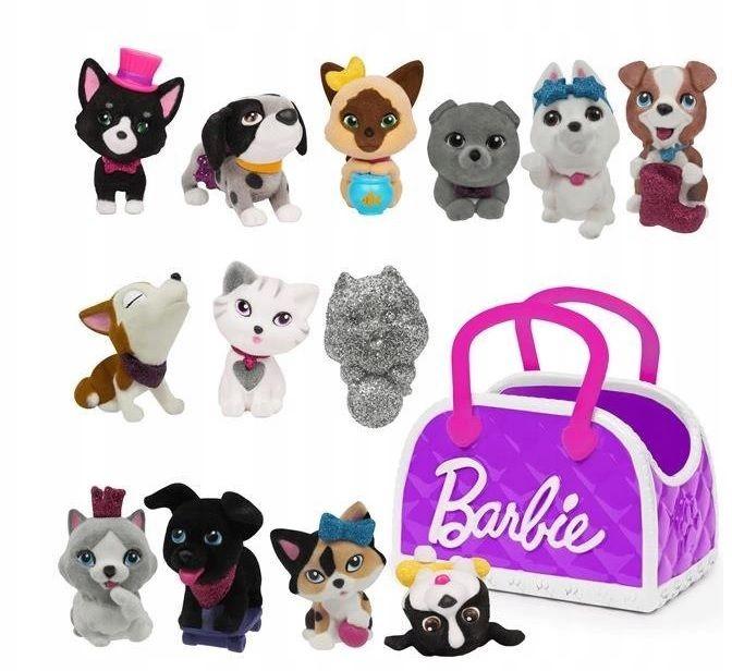 Figurki Barbie 62630 mini zwierzątka w torebce
