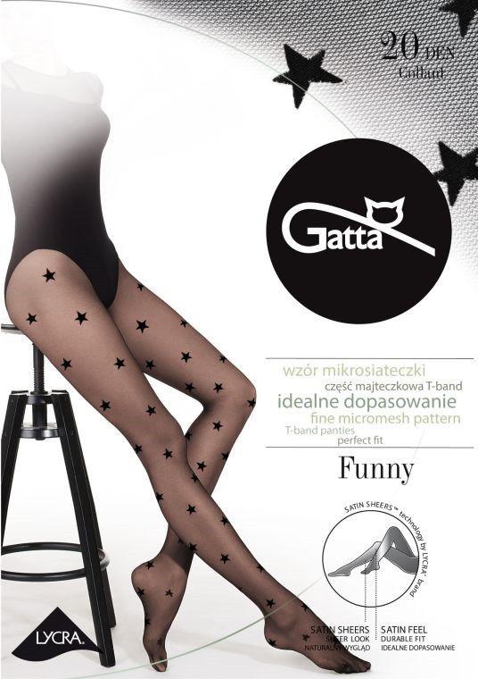 Gatta Funny 06 Tights Nero Black