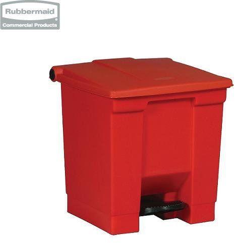 Pojemnik na śmieci Step-On Container 30,3L red