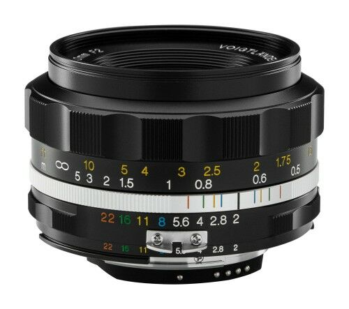 Obiektyw Voigtlander Ultron SL IIs 40 mm f/2,0 do Nikon F - czarny