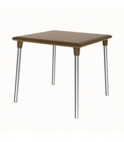 Stół New Flash 90x90 Chocolate Resol