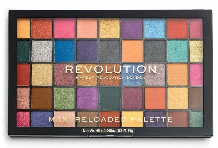 Makeup Revolution MAXI ReLoaded Palette 45 Eyeshadow Dream Big Paleta cieni do powiek