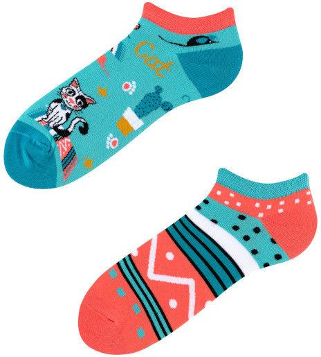 Stopki, Cats Low, Todo Socks, Kotki, Kaktus, Kolorowe