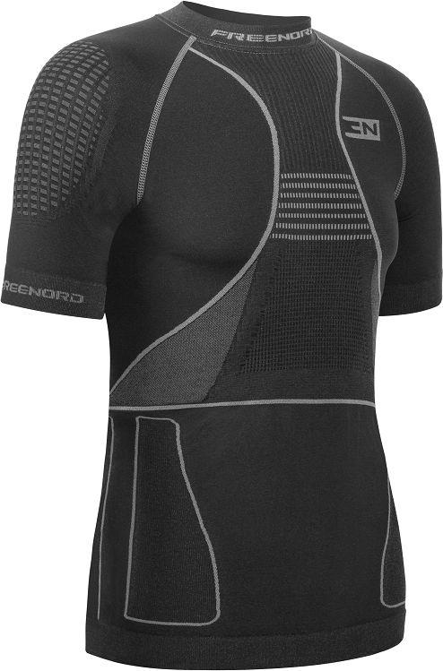 Koszulka termoaktywna FreeNord ThermoTech Evo K/R - czarna