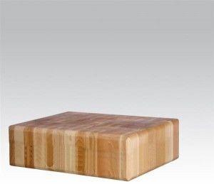 Kloc masarski 500x400 drewniany bez podstawy 505632