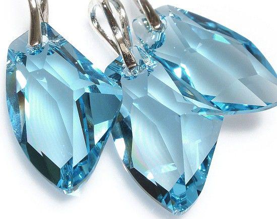 Kryształy komplet+pudełeczko SREBRO 27 Certyfikat